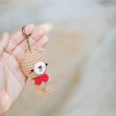мишка амигуруми схема вязания крючком