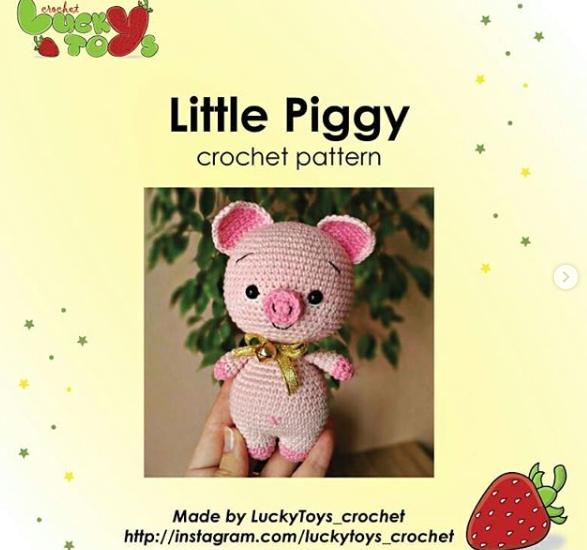 pig crochet pattern Amigurumi toys