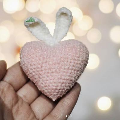 вязаное сердечкокрючком схема Амигуруми