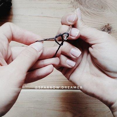 как связать скользящую петлю альтернативный способ кольца амигуруми