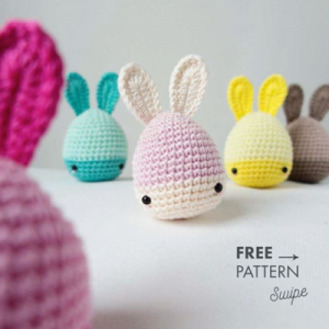 crochet eggs free Amigurumi pattern