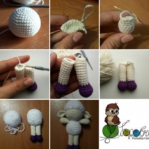 схема вязания игрушек бесплатно