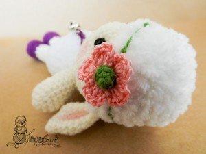 вязаная крючком овечка Марьянка