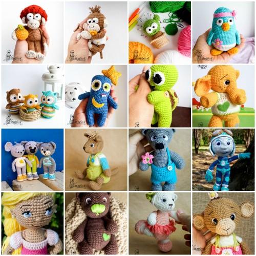 магазин вязаных игрушек