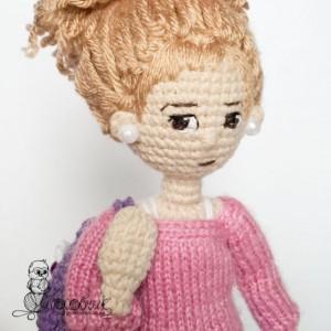 купить вязаную куклу