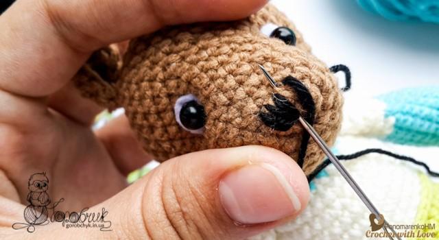 магазин вязаных игрушек Горобчик gorobchyk.in.ua авторские амигуруми купить ручная работа-50