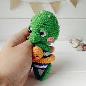 игрушки амигуруми схема вязания кармасики автор Любовь Пономаренко