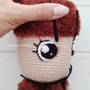 описание амигуруми вязаная овечка крючком автор любовь пономаренко