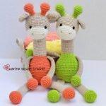 жирафы амигуруми схема крючком