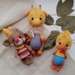 игрушки Амигуруми бесплатно