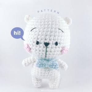 crochet bear free Amigurumi pattern
